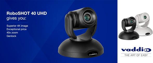 Vaddio представляет поворотную 4K камеру с 40-кратным зумом | ARTIST-PRO